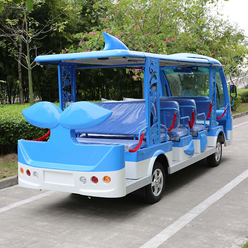 electric customized shuttle bus
