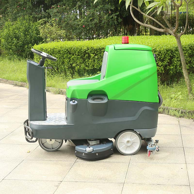 Electric Ride on Floor Scrubber Machine