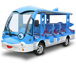 Electric Sightseeing Bus DN-14 Dolphin Design